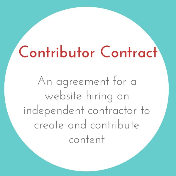 Contributor Contract