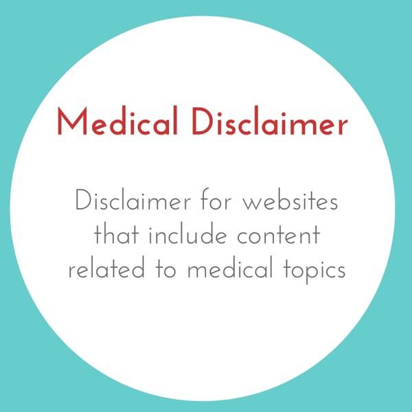Medical Disclaimer