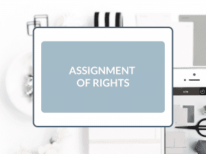 Purchase Assignment of Rights