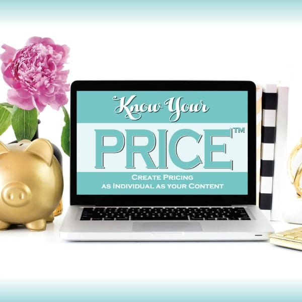 Know Your PRICE™: a guide for bloggers on how to price their sponsored content