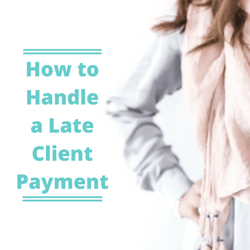 How to Handle a Late Client Payment