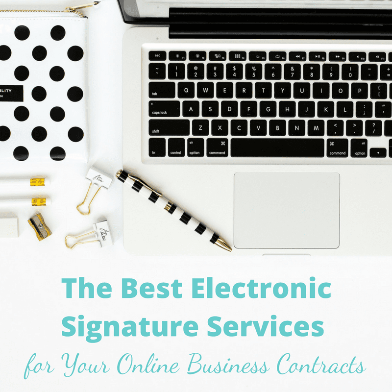 The Best Electronic Signature Services