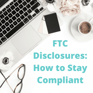 blogging disclosures