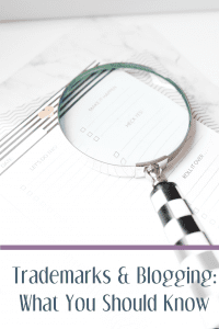 Trademarks and Blogging: What You Should Know