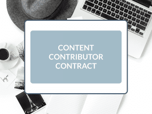 Purchase Content Contributor Contract