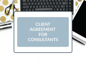Purchase Client Agreement for Consultants