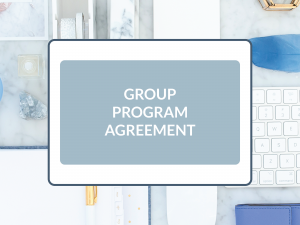Purchase Group Program Agreement