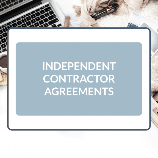 Independent Contractor Agreements