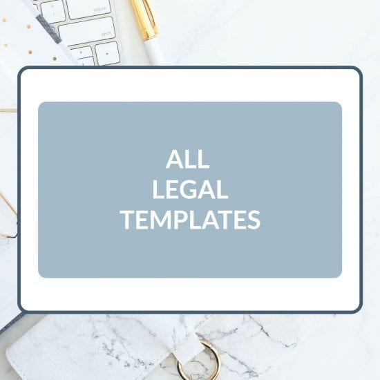 All Legal Templates